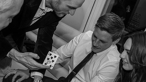 corporate magician photo